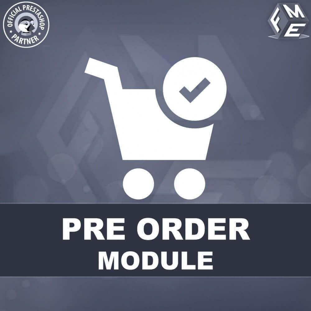 module - Pегистрации и оформления заказа - PreOrder - Предварительное бронирование - 1
