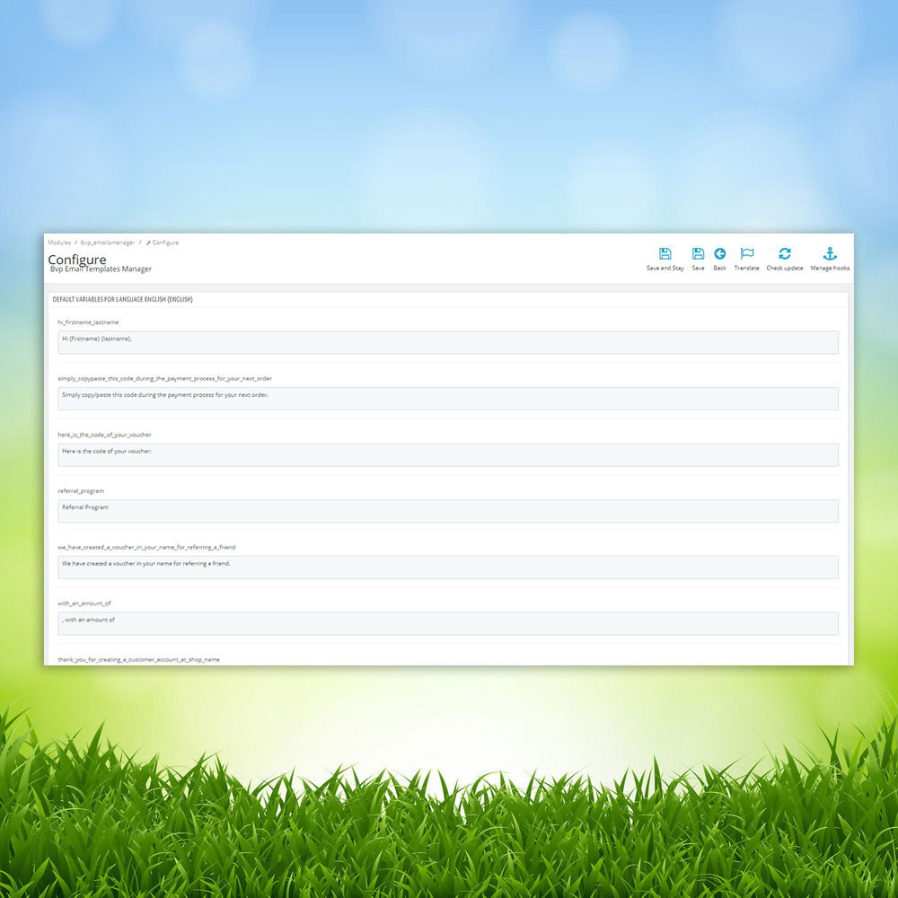 module - E-mails & Notifications - BVP Email Templates Manager Pro - 3