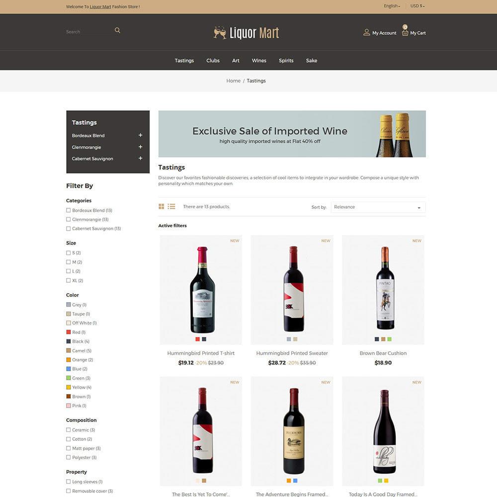 theme - Drank & Tabak - Liquor Wine - Drink Alcoholic Juice Store - 2