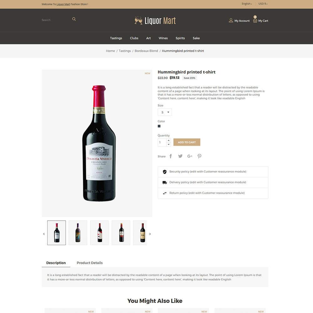 theme - Drank & Tabak - Liquor Wine - Drink Alcoholic Juice Store - 3