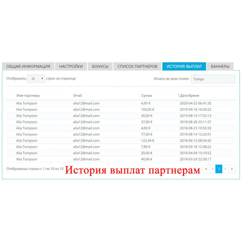 module - Платная поисковая оптимизация - Расширенная партнерская программа RefPRO - 8