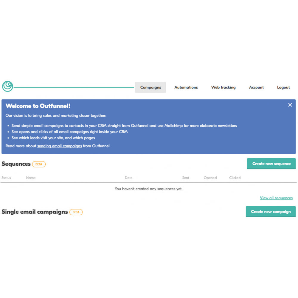 module - Remarketing & Shopping Cart Abandonment - Outfunnel Web Tracking - 1
