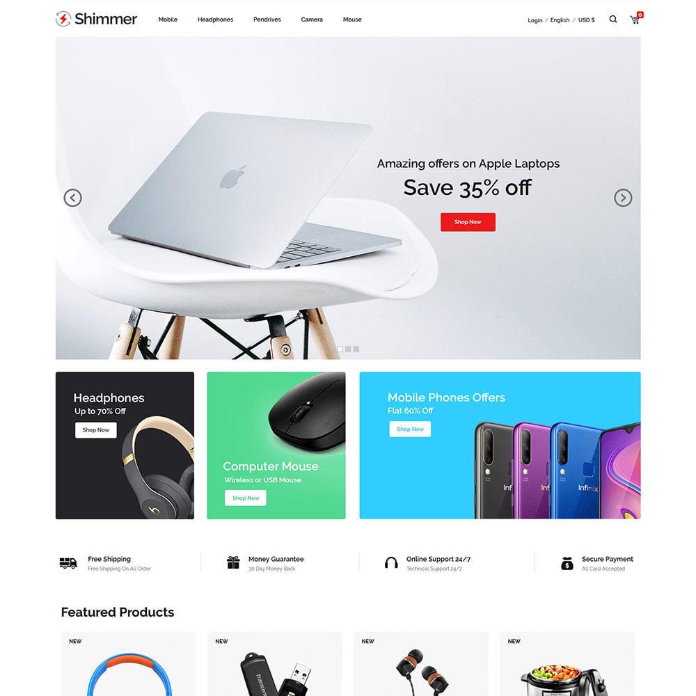 theme - Elettronica & High Tech - Elettronica digitale - Drone Store per computer - 3