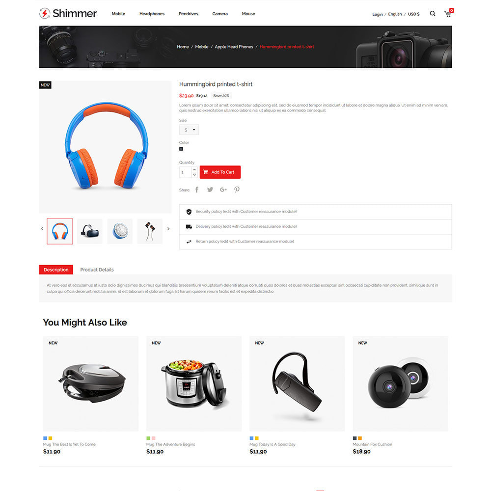 theme - Elettronica & High Tech - Elettronica digitale - Drone Store per computer - 6