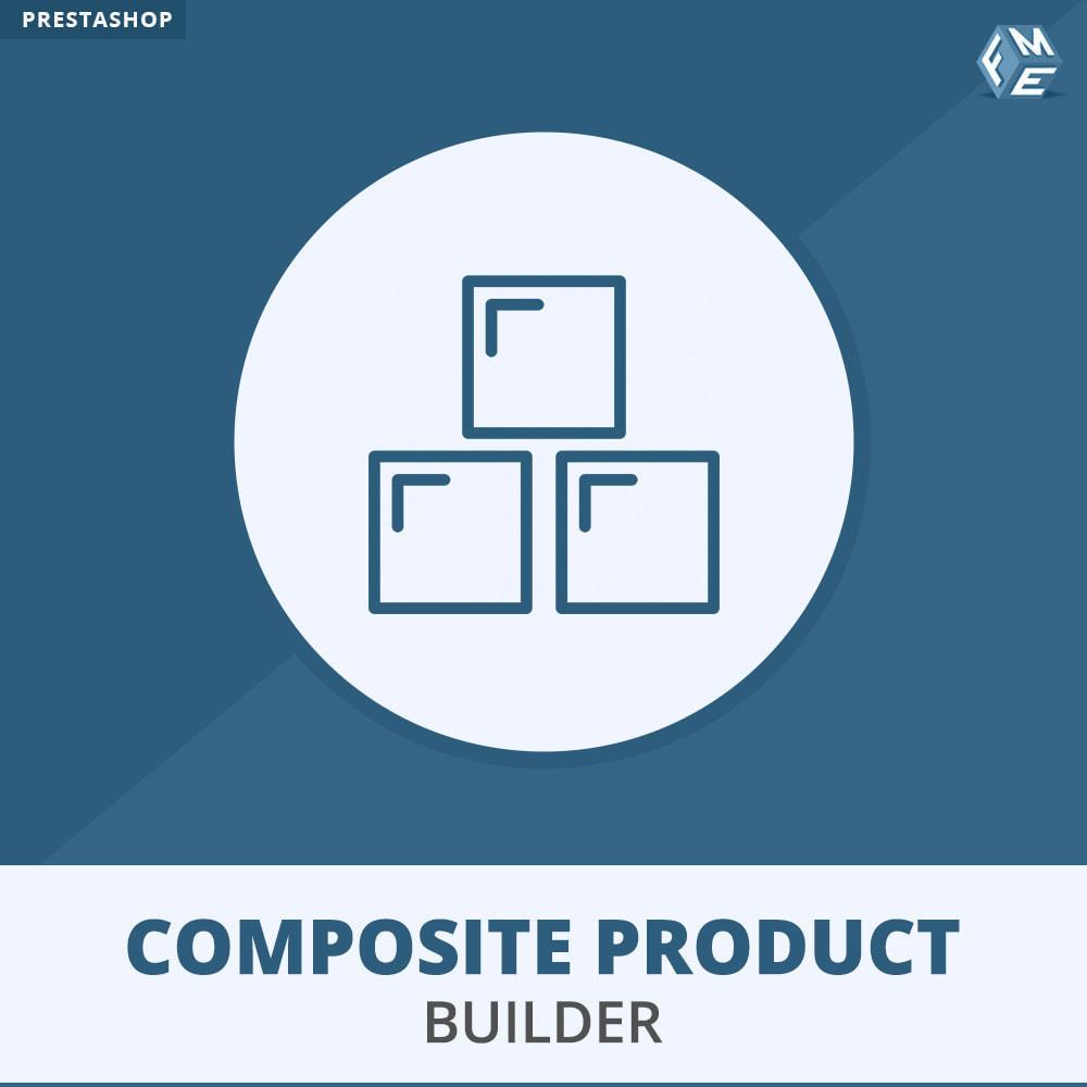 module - Ventas cruzadas y Packs de productos - Composite Product Builder - 1
