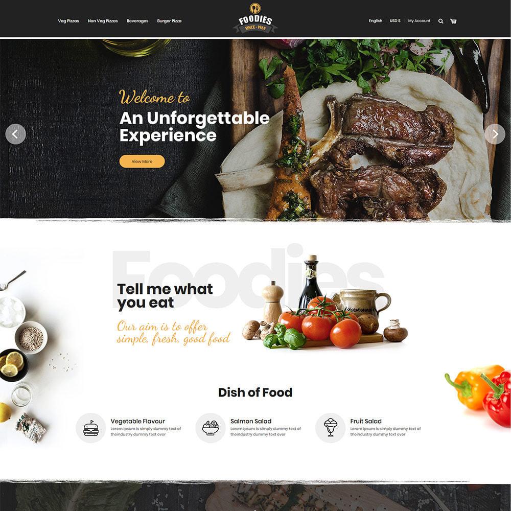 theme - Alimentation & Restauration - Food Burger - Magasin d'alimentation pizza - 3