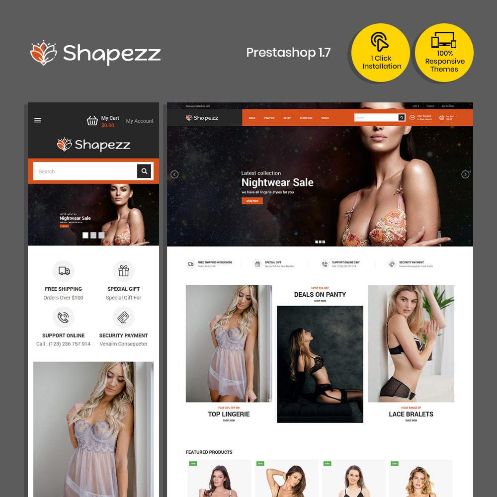 theme - Bielizna & Dorośli - Shapezz Adult - sklep z bielizną Stanik majtki - 2