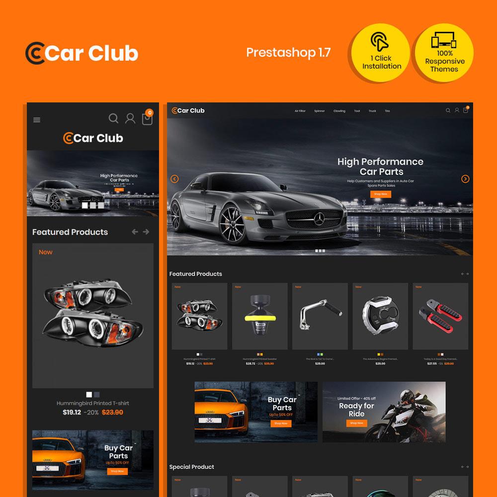 theme - Auto & Moto - Carclub - Magasin de pièces de rechange pour moteur - 2