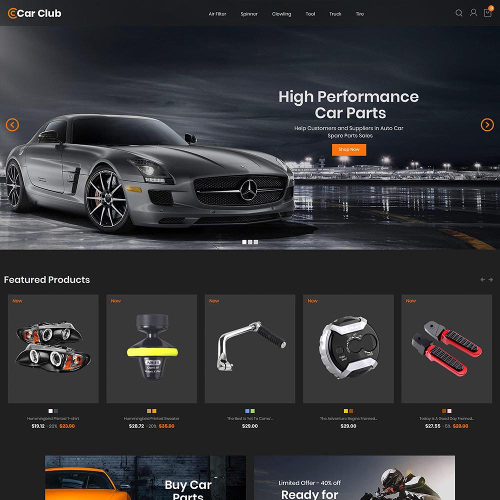 theme - Auto & Moto - Carclub - Negozio di ricambi per motori per utensili - 3