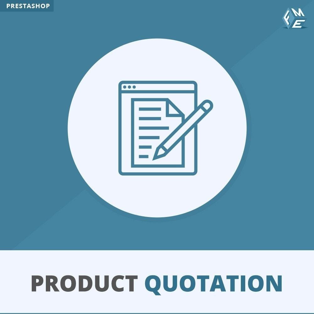 module - Wyceny - Wycena produktu - Pozwól klientowi poprosić o wycenę - 1