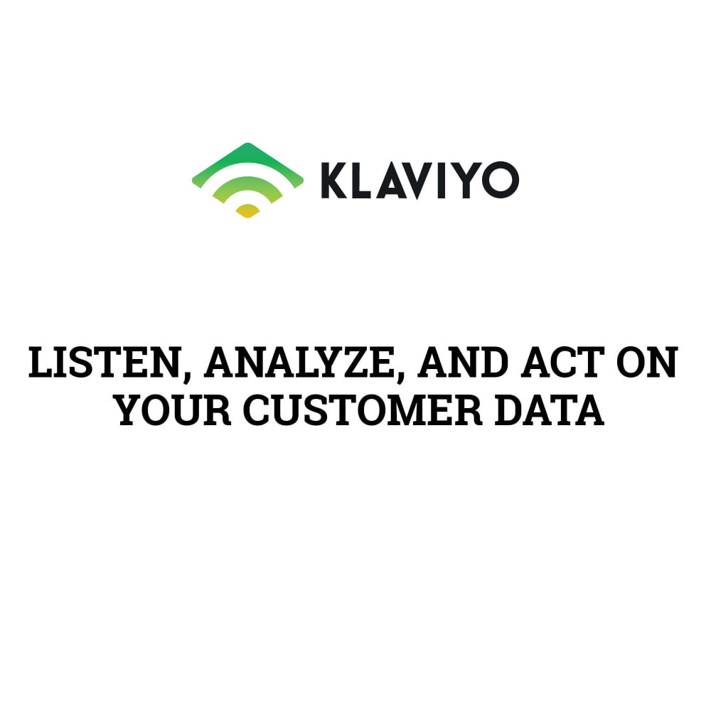 module - Notifications & Automatic Emails - Klaviyo Integration Pro - 1