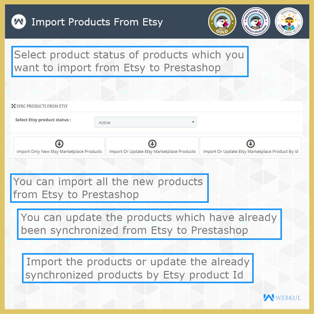 module - Platforma handlowa (marketplace) - Etsy Connector - 5