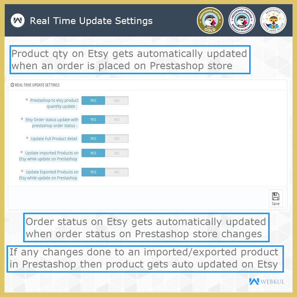 module - Platforma handlowa (marketplace) - Etsy Connector - 15