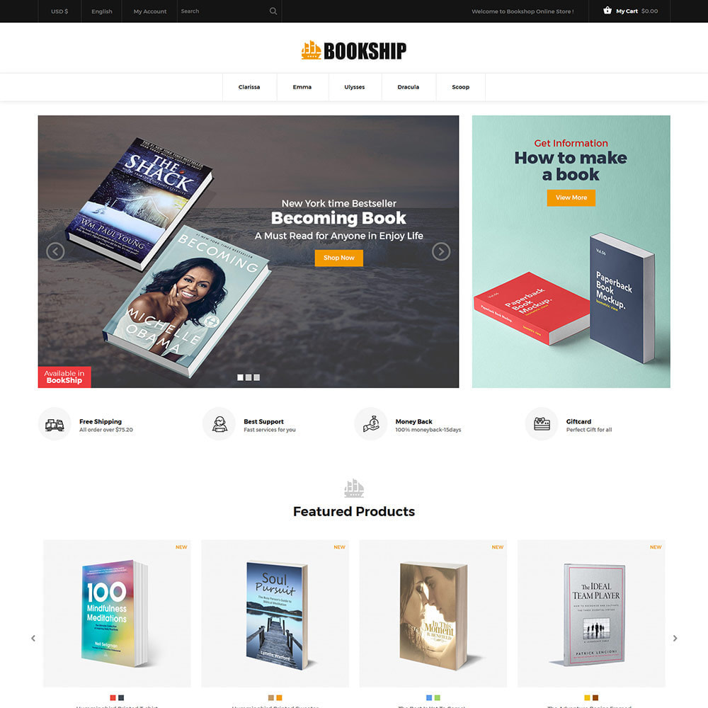 theme - Art & Culture - Bookship - Book Online Library Magazine Store - 3