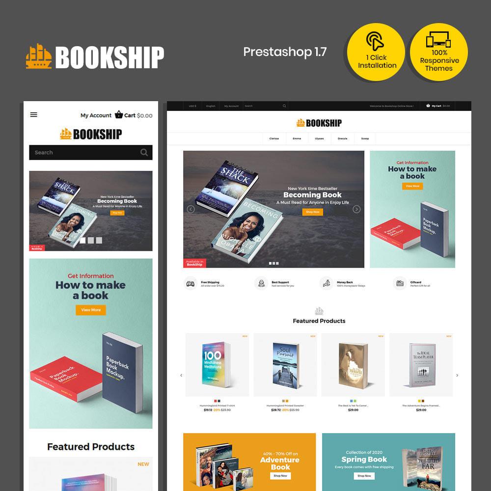 theme - Arte & Cultura - Bookship - Book Online Library Magazine Store - 2