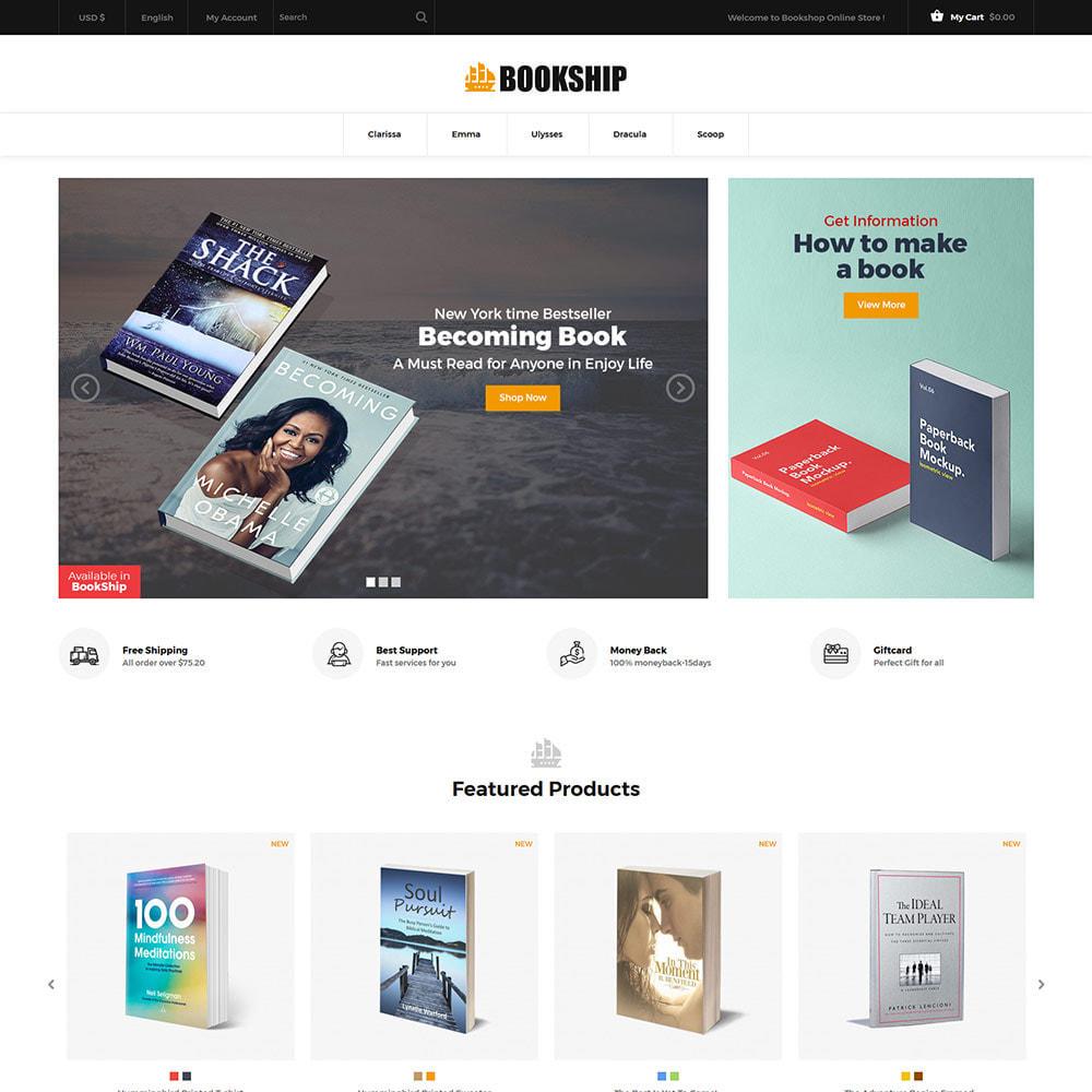 theme - Arte & Cultura - Bookship - Book Online Library Magazine Store - 3