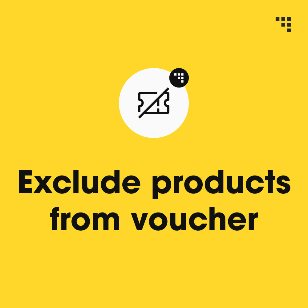 module - Promocje & Prezenty - Exclude Products from Voucher - 1