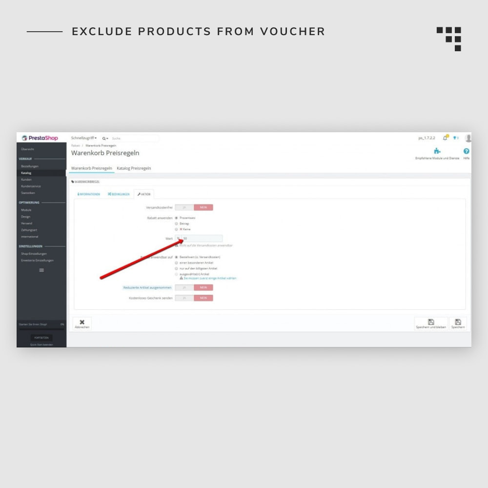 module - Promocje & Prezenty - Exclude Products from Voucher - 5