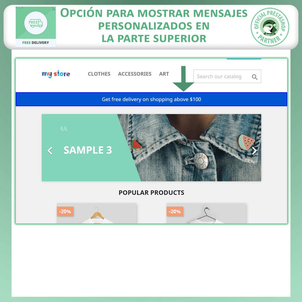 module - Gastos de transporte - Envío Gratuito Anticipado - 2
