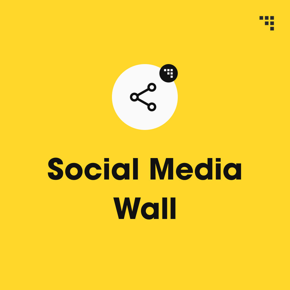 module - Products on Facebook & Social Networks - Social Media Wall - 1