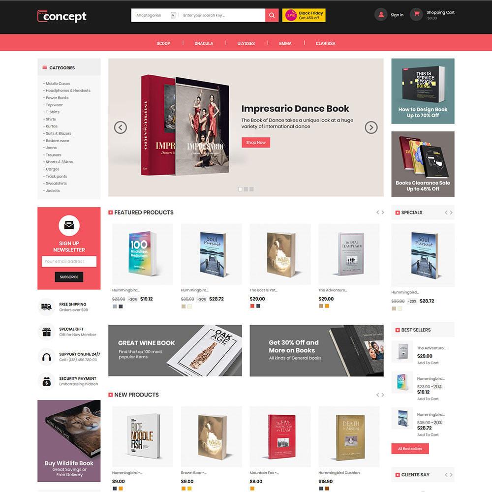 theme - Arte y Cultura - Concept Ebook Library - Tienda de libros en línea - 3