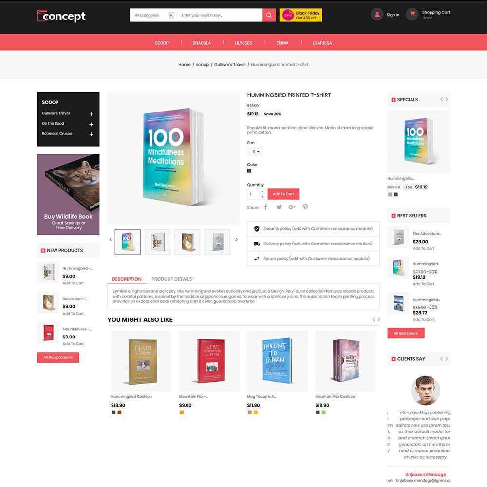 theme - Arte y Cultura - Concept Ebook Library - Tienda de libros en línea - 6
