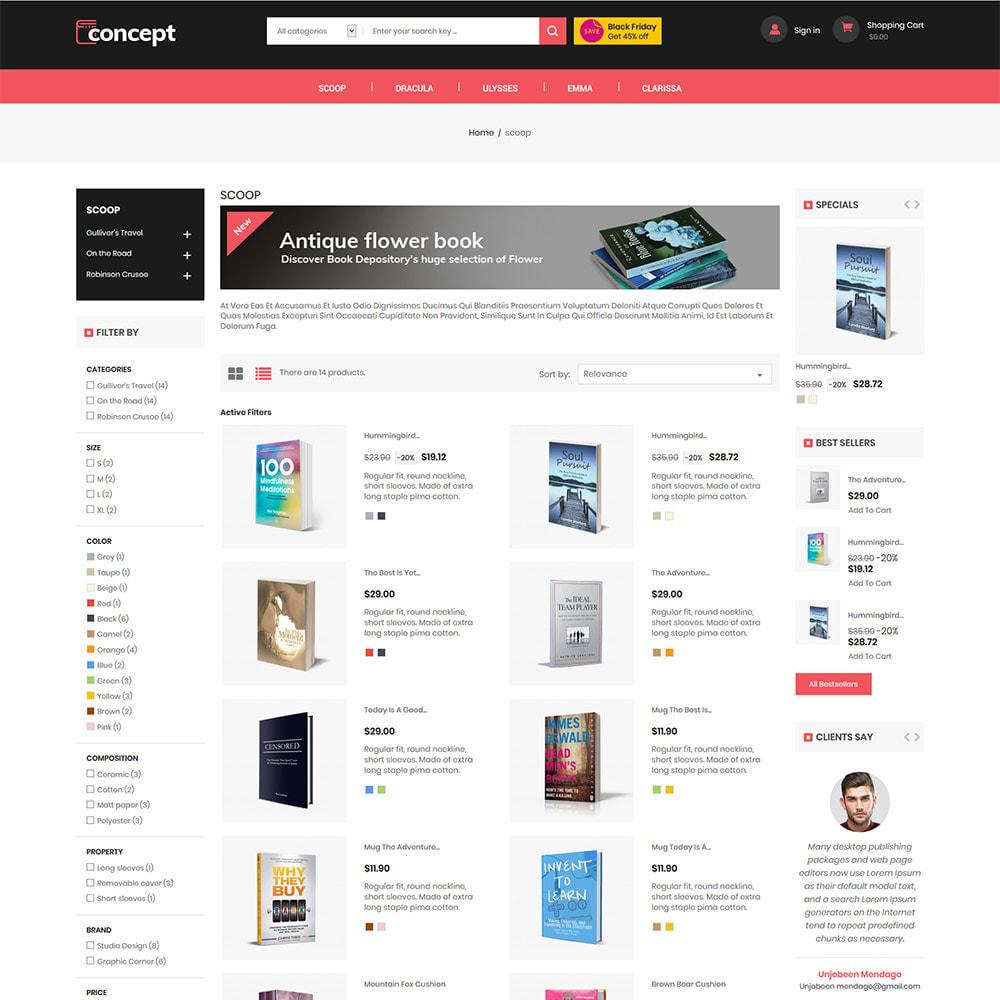 theme - Arte & Cultura - Concept Ebook Library - Negozio di libri online - 5