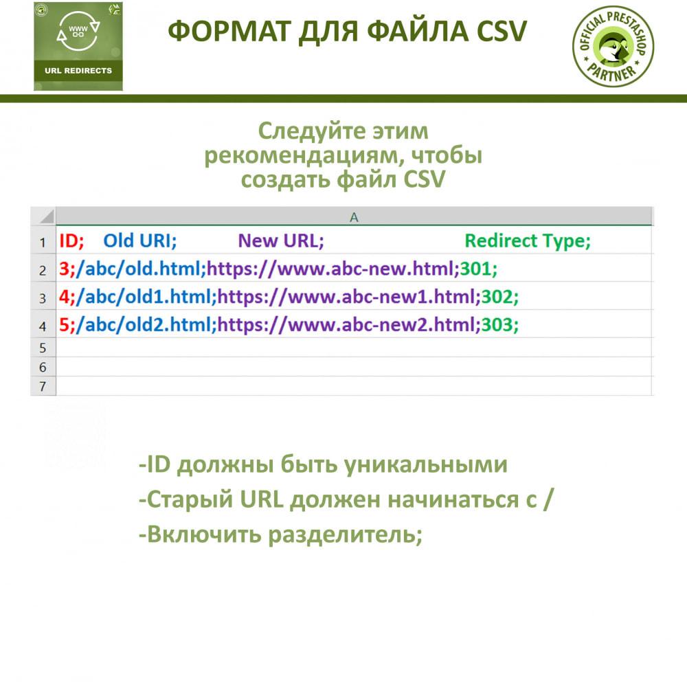 module - Управления адресами URL и перенаправлением - Переадресация URL - 301, 302, 303 перенаправления - 6
