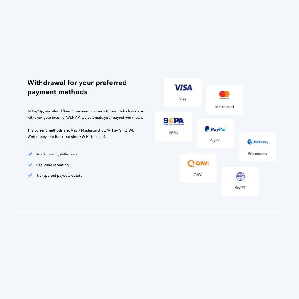 module - Creditcardbetaling of Walletbetaling - PayOp payment gateway - 2