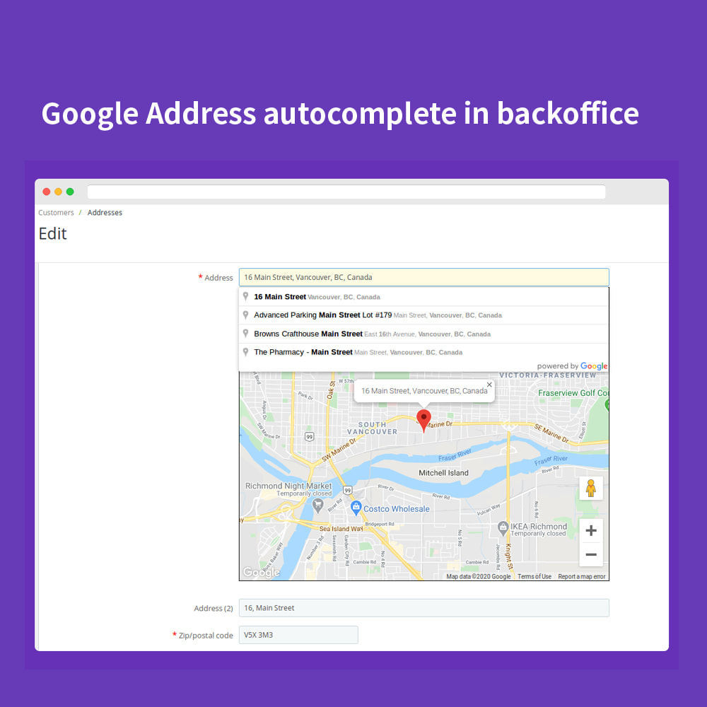 module - Bestelproces - Autocomplete Google Address - 10