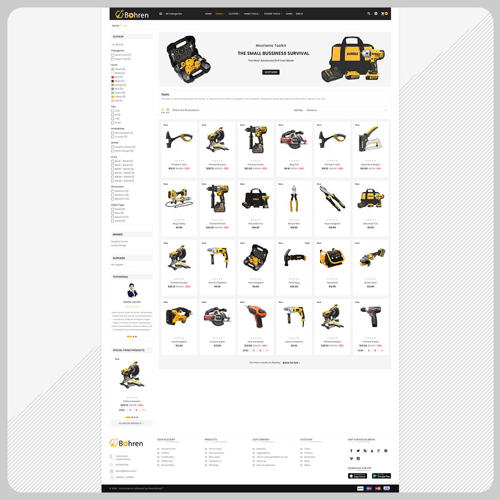 theme - Carros & Motos - Utensili – The Tools Mega Shop - 3