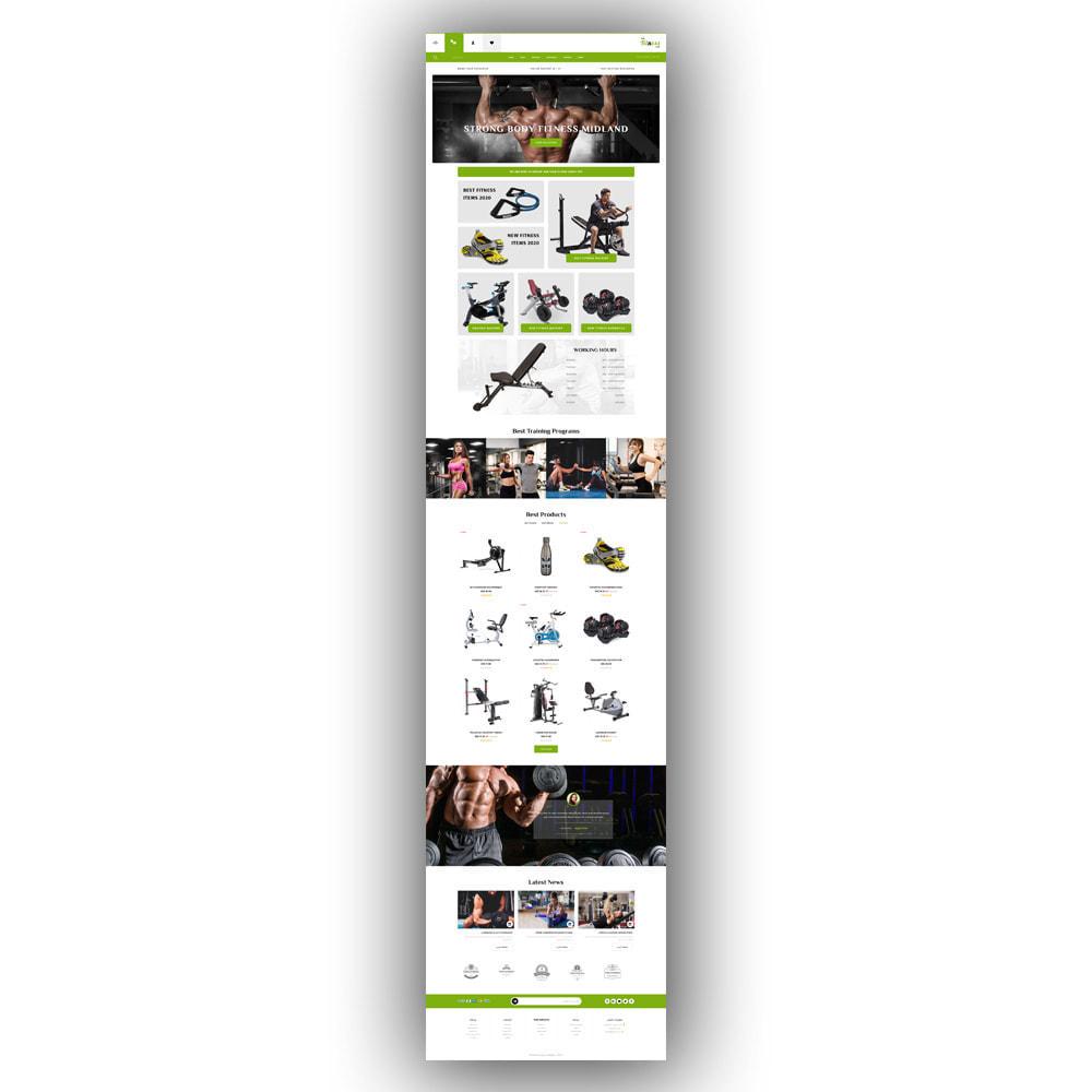 theme - Sport, Loisirs & Voyage - Fitnesslife - Gym Store - 8