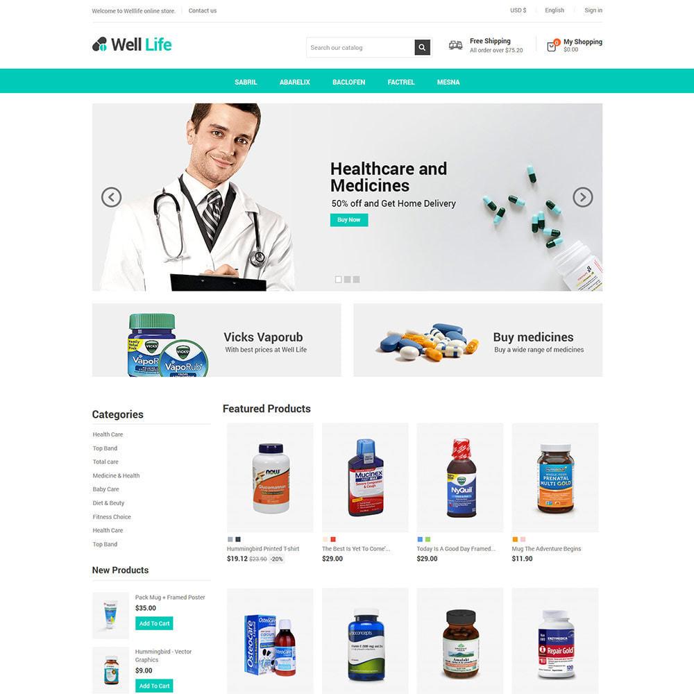 theme - Salute & Bellezza - Well Life - Medicine Medical Drug Pharmacy Store - 3