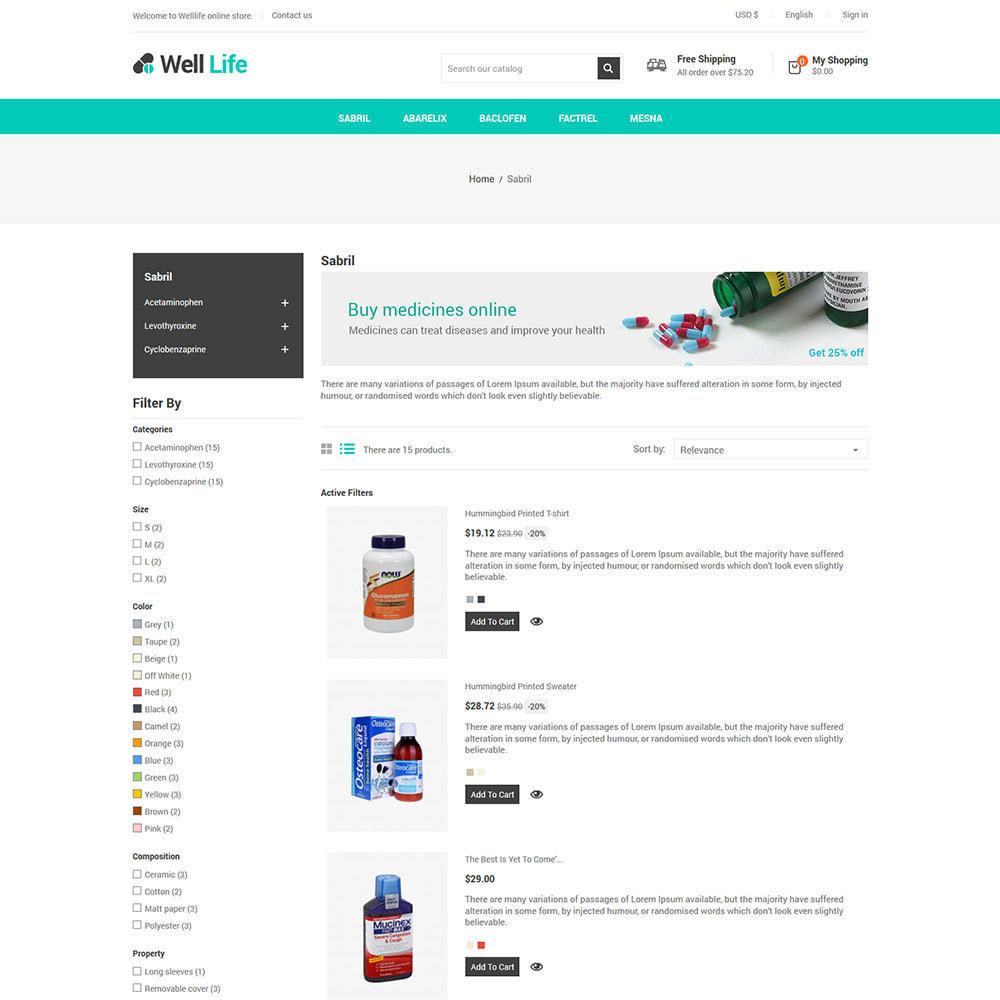 theme - Salute & Bellezza - Well Life - Medicine Medical Drug Pharmacy Store - 5