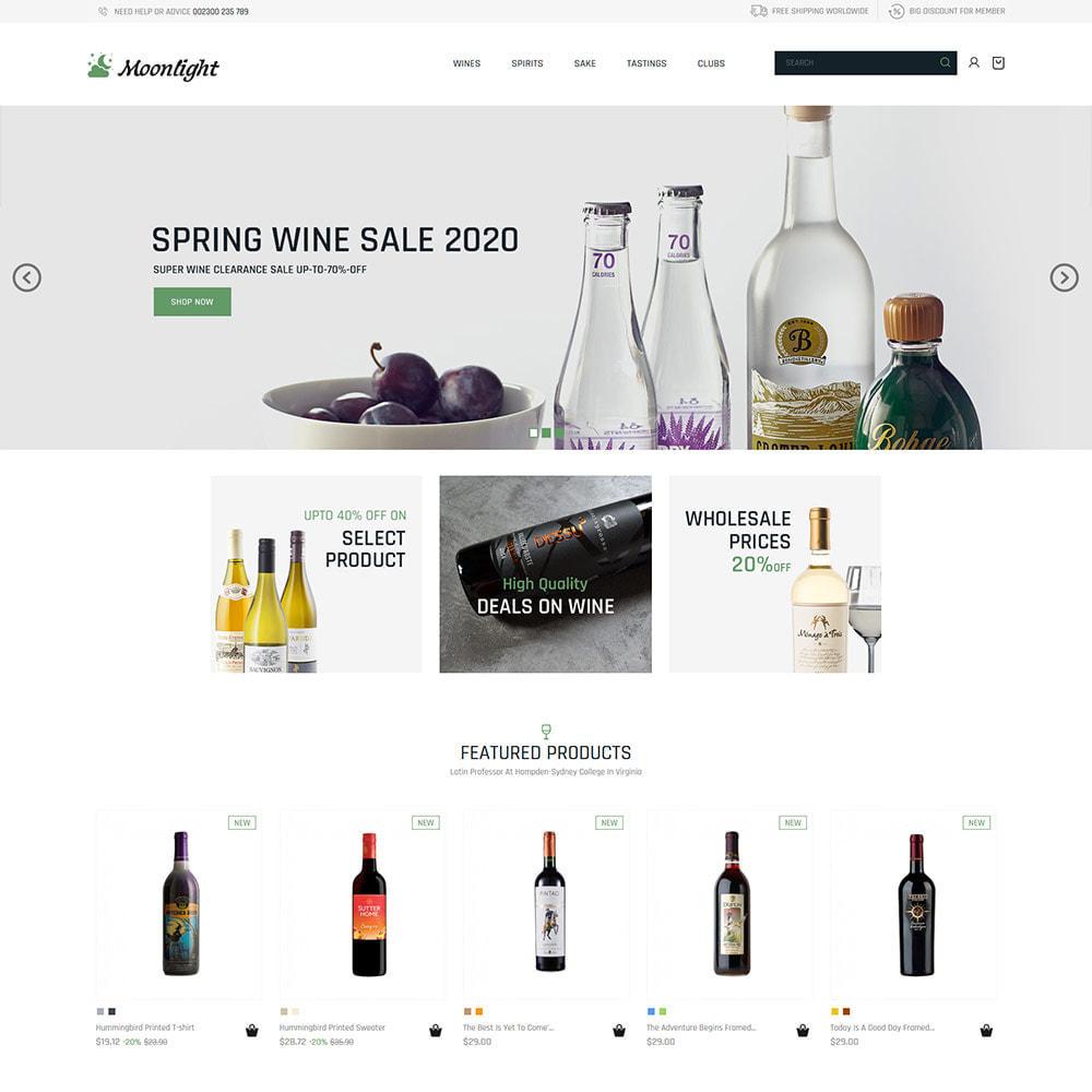 theme - Boissons & Tabac - Bar à bière - Boutique de vin rouge - 3