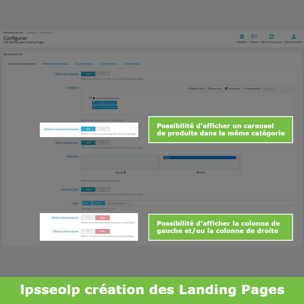 module - SEO (référencement naturel) - SEO Dynamic Landing Pages - 4