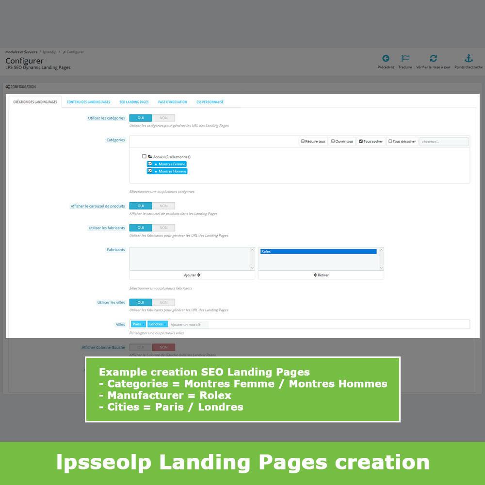module - SEO - SEO Dynamic Landing Pages - 3
