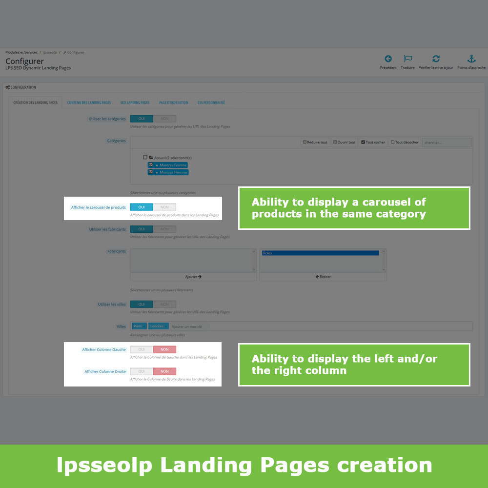 module - SEO - SEO Dynamic Landing Pages - 4