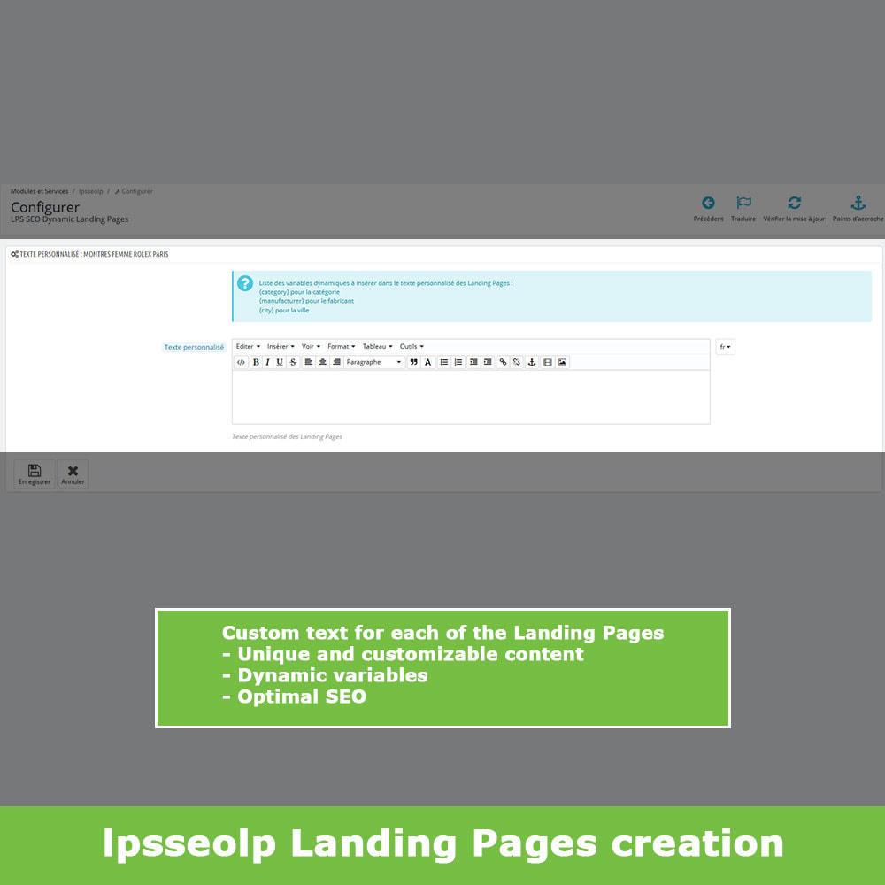 module - SEO - SEO Dynamic Landing Pages - 6