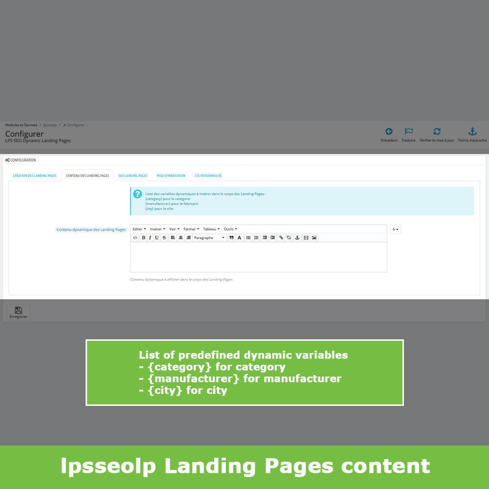 module - SEO - SEO Dynamic Landing Pages - 7