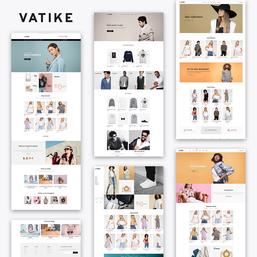 theme - Fashion & Shoes - Vatike Fashion Stores - 2