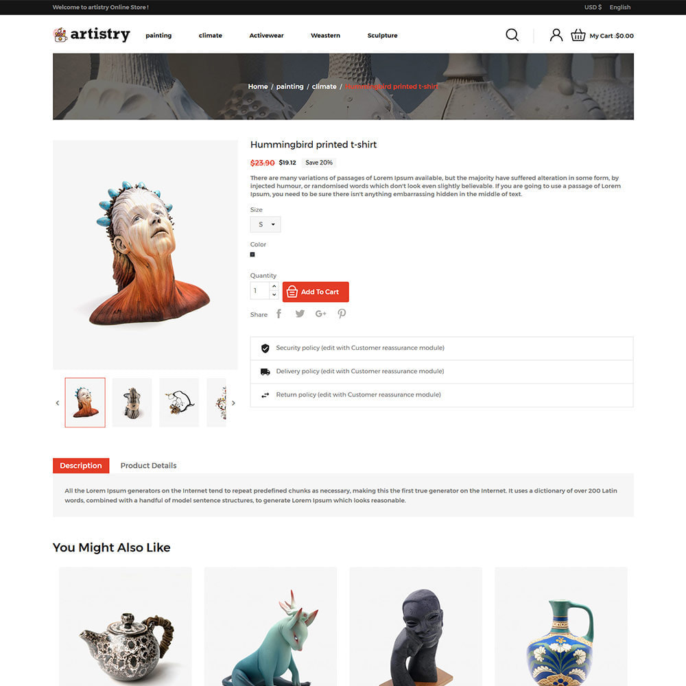 theme - Art & Culture - Artist - Paint Artisanat Art Store - 6