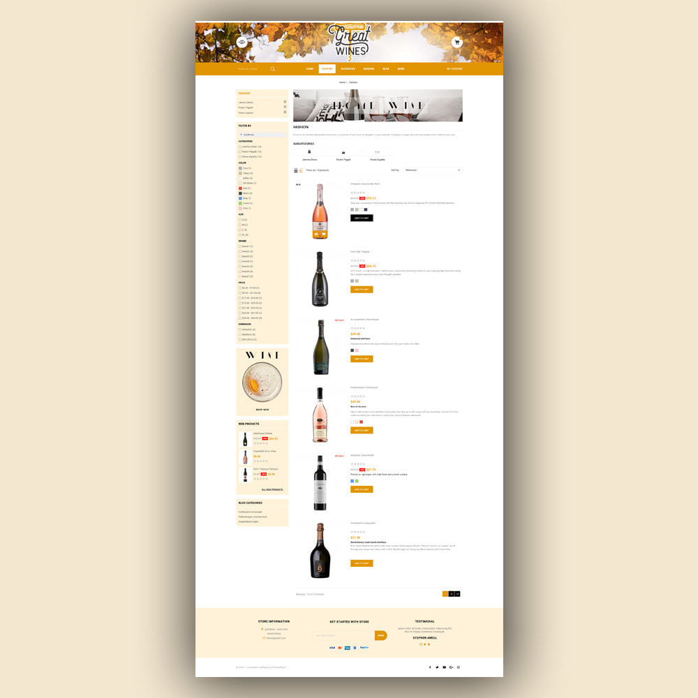theme - Drink & Tobacco - Greatwine - Wine Store - 5