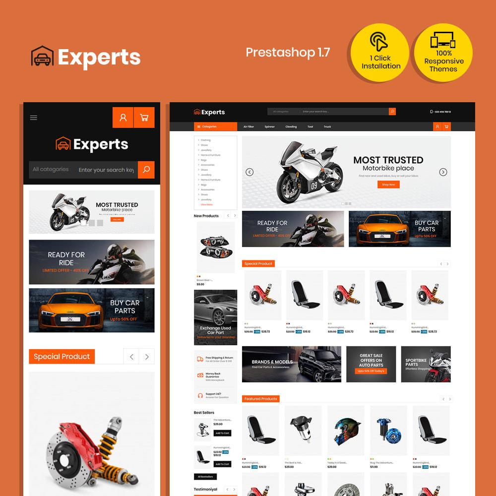 theme - Carros & Motos - Expert Tool  - Car Parts Auto Store - 1