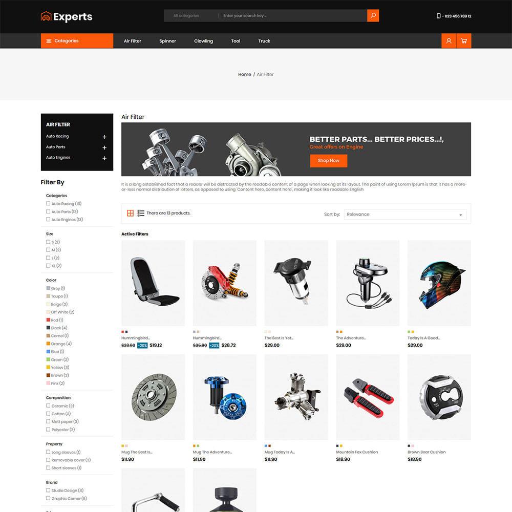 theme - Carros & Motos - Expert Tool  - Car Parts Auto Store - 3