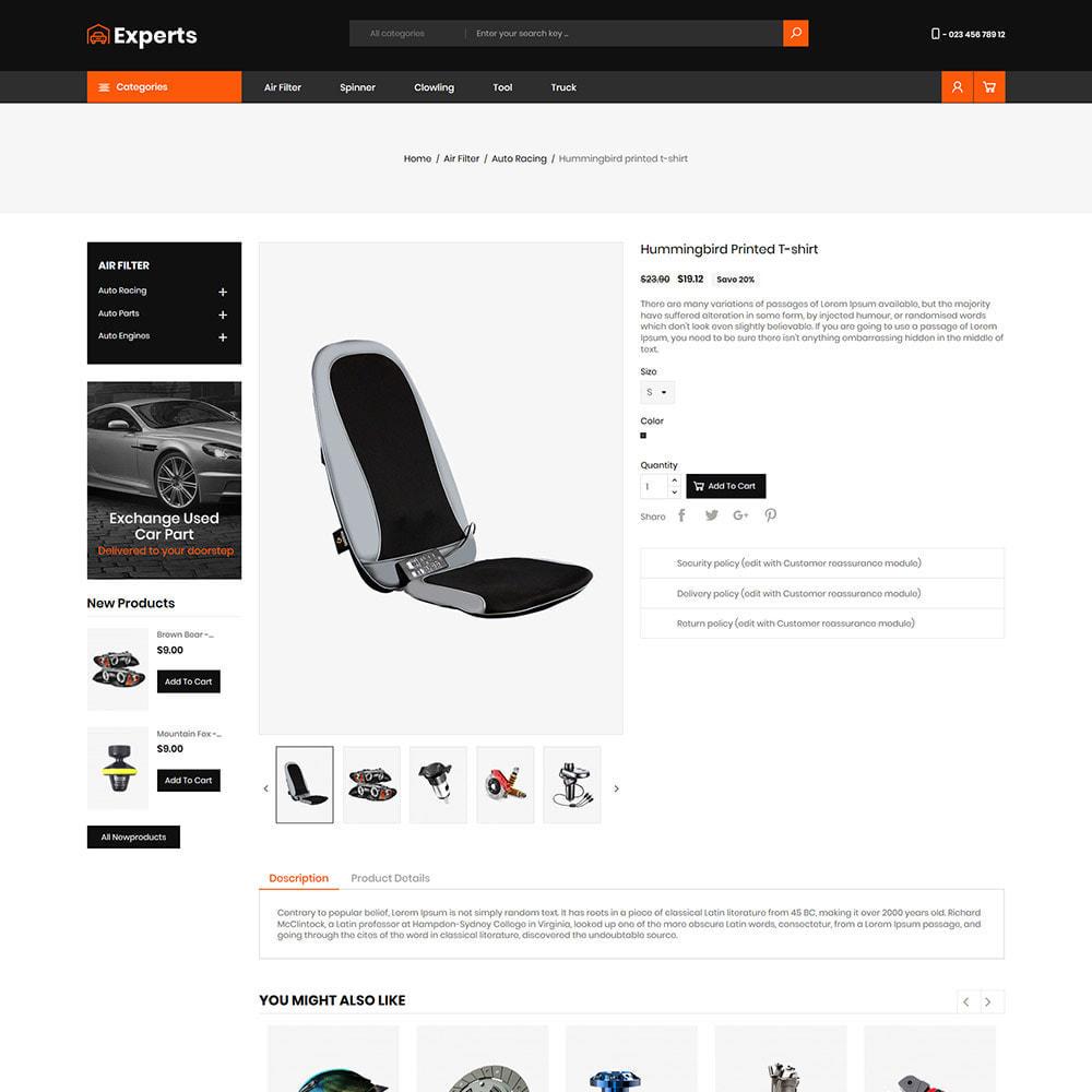 theme - Carros & Motos - Expert Tool  - Car Parts Auto Store - 5