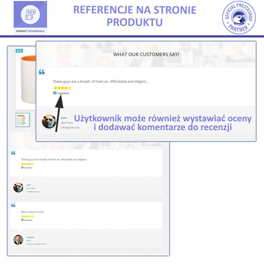 module - Opinie klientów - Recenzje Klientów + Referencje Sklepu - 2