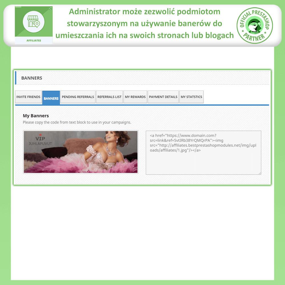 module - Płatne pozycjonowanie & Afiliacja - Program Partnerski i Polecający - 5