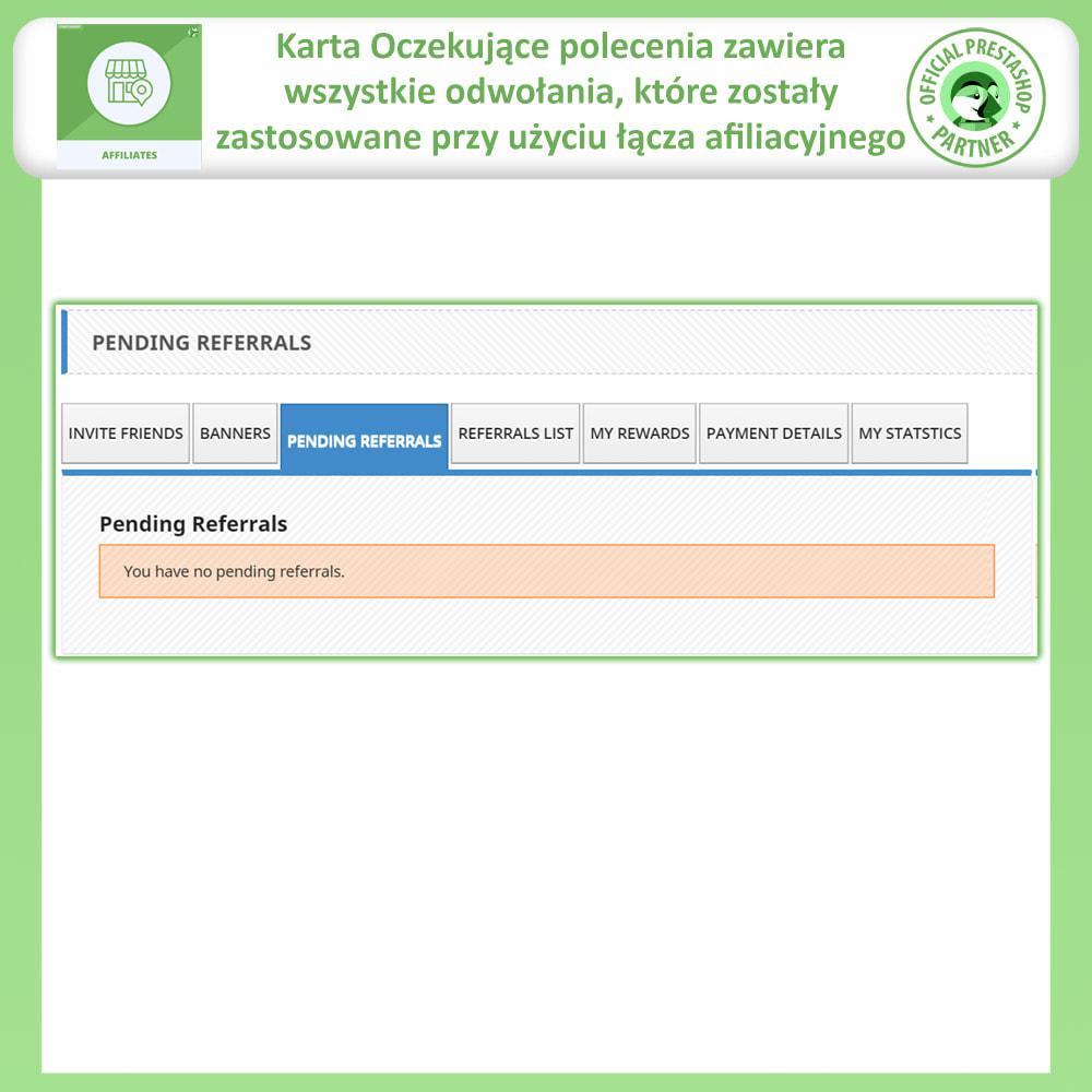 module - Płatne pozycjonowanie & Afiliacja - Affiliate i program poleceń - 6