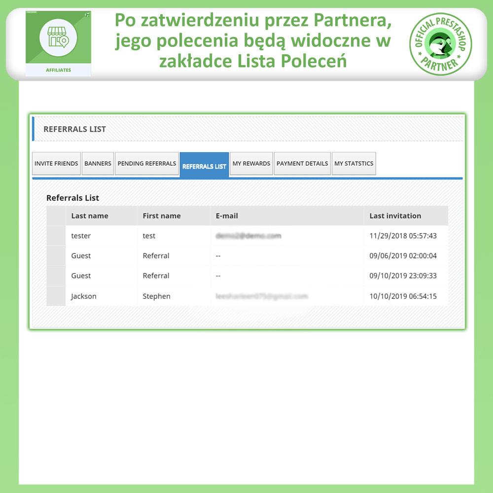 module - Płatne pozycjonowanie & Afiliacja - Program Partnerski i Polecający - 7